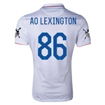 USA 14/15 American Outlaws AO LEXINGTON Home Soccer Jersey