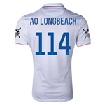 USA 14/15 American Outlaws AO LONG BEACH Home Soccer Jersey