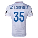 USA 14/15 American Outlaws AO LOUISVILLE Home Soccer Jersey