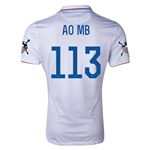 USA 14/15 American Outlaws AO MB Home Soccer Jersey