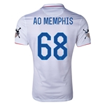 USA 14/15 American Outlaws AO MEMPHIS Home Soccer Jersey