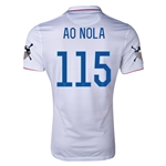 USA 14/15 American Outlaws AO NOLA Home Soccer Jersey