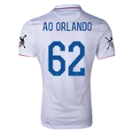 USA 14/15 American Outlaws AO ORLANDO Home Soccer Jersey