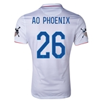 USA 14/15 American Outlaws AO PHOENIX Home Soccer Jersey