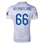 USA 14/15 American Outlaws AO PORTLAND Home Soccer Jersey