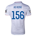 USA 14/15 American Outlaws AO RENO Home Soccer Jersey