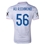 USA 14/15 American Outlaws AO RICHMOND Home Soccer Jersey
