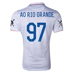 USA 14/15 American Outlaws AO RIO GRANDE Home Soccer Jersey