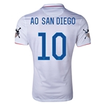USA 14/15 American Outlaws AO SAN DIEGO Home Soccer Jersey