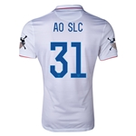 USA 14/15 American Outlaws AO SLC Home Soccer Jersey