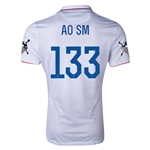 USA 14/15 American Outlaws AO SM Home Soccer Jersey