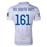 USA 14/15 American Outlaws AO SOUTH BAY Home Soccer Jersey