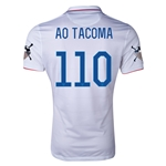 USA 14/15 American Outlaws AO TACOMA Home Soccer Jersey
