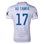 USA 14/15 American Outlaws AO TAMPA Home Soccer Jersey