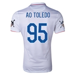 USA 14/15 American Outlaws AO TOLEDO Home Soccer Jersey