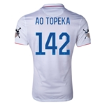 USA 14/15 American Outlaws AO TOPEKA Home Soccer Jersey