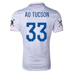 USA 14/15 American Outlaws AO TUCSON Home Soccer Jersey