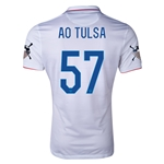 USA 14/15 American Outlaws AO TULSA Home Soccer Jersey
