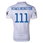 USA 14/15 American Outlaws AO WILMINGTON Home Soccer Jersey