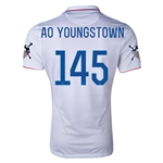 USA 14/15 American Outlaws AO YOUNGSTOWN Home Soccer Jersey