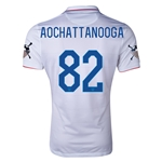 USA 14/15 American Outlaws AOCHATTANOOGA Home Soccer Jersey