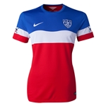 USA 2014 American Outlaws Women's Away Soccer Jersey