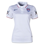 USA 14/15 American Outlaws Women's Home Soccer Jersey