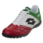 Lotto Stadio Potenza IV 700 TF (White/Green/Red)