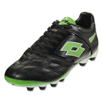 Lotto Stadio Potenza IV 300 FG (Black/Fluo Mint)