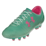 Under Armour Women's Speed Force FG (Quartz Green/Mint/Neo Pulse)