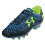 Under Armour Speed Force FG Junior (Electric Blue/Academy/High-Vis Yellow)