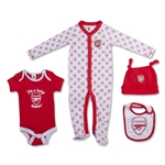 Arsenal Baby 4 Piece Gift Set