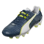 Puma King II FG (Majolica Blue/White/Lime Punch)