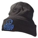 Rhino Knitted Beanie (Black)