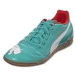 PUMA evoPOWER 4 IT Junior (Pool Green/White/Grenadine/Turbulence)