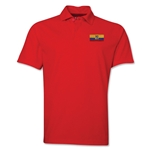 Ecuador Flag Soccer Polo (Red)