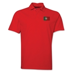 Portugal Flag Soccer Polo (Red)