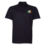 Ireland Flag Soccer Polo (Black)