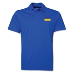Ukraine Flag Soccer Polo (Royal)