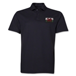 Wales Flag Soccer Polo (Black)