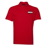 Austria Flag Soccer Polo (Red)