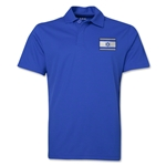 Israel Flag Soccer Polo (Royal)