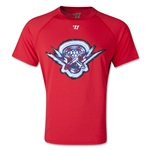 Warrior Boston Cannons Tech MLL Lacrosse T-Shirt