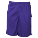 Warrior Burn Stock Game Short (Pur/Wht)