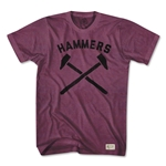Objectivo West Ham Hammers T-Shirt (Maroon)