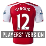 Arsenal 14/15 GIROUD Authentic Home Soccer Jersey