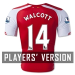 Arsenal 14/15 WALCOTT Authentic Home Soccer Jersey