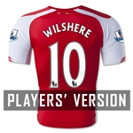 Arsenal 14/15 WILSHERE Authentic Home Soccer Jersey