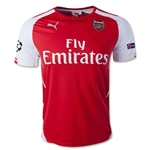 Arsenal 14/15 UCL Home Soccer Jersey