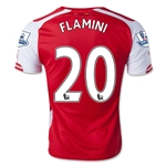 Arsenal 14/15 FLAMINI Jersey de Futbol Local